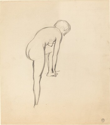 Female Nude (The Artist's Wife)
