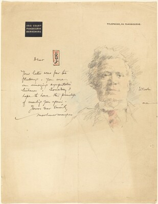 A Letter From Iris Court with a Portrait of John L. Toole