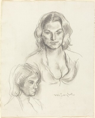 Two Studies of a Woman