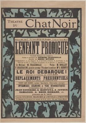 Poster for Le Chat Noir [L'enfant prodigue]