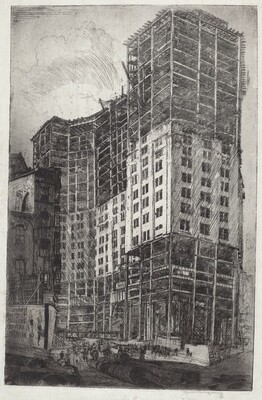 Municipal Building, New York, Under Construction