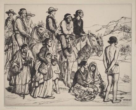 Navajo Family