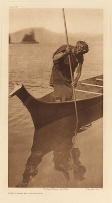 Fish Spearing-Clayoquot