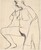 Untitled [nude with shirt pulled over her shoulder] [verso]