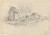 Untitled (Landscape with Houses) [verso]