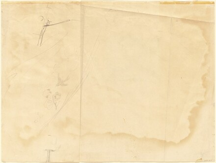 Study for Wind from the Sea (verso)