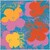 Flowers (red, orange, light blue)