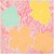 Flowers (gold, light blue, yellow, pink)