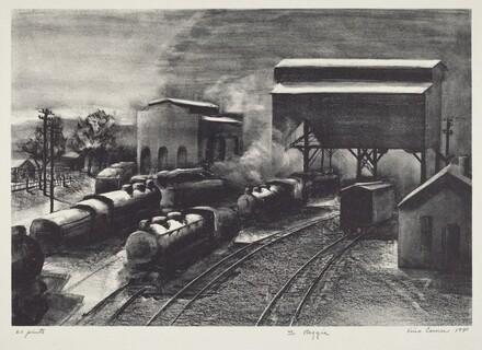 Untitled (Railroad Depot)