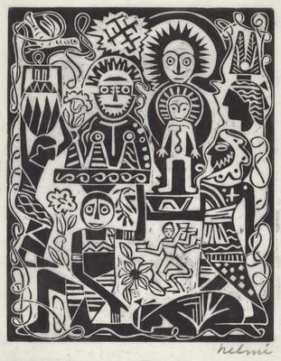 Untitled (Exotic Figures)