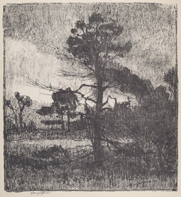 Untitled (Landscape With Tree)