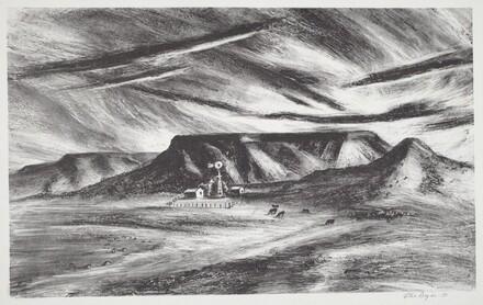 Untitled (Windmill Mesa)