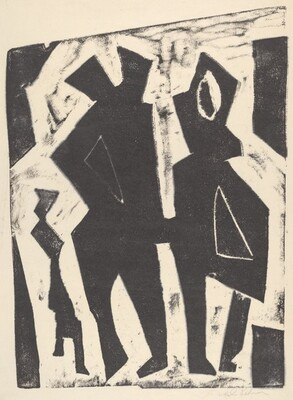 Untitled (Abstracted Figures)