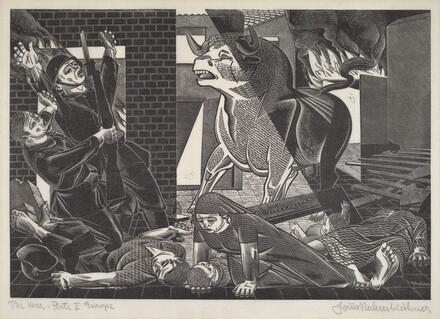 The War. Plate II, Europe