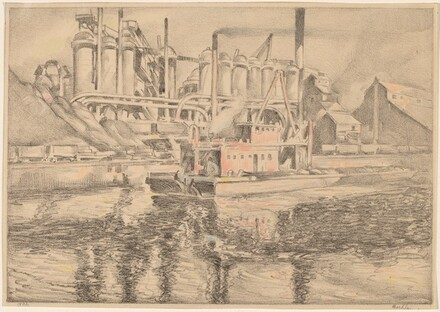 Republic Steel on the Cuyahoga River