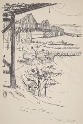 Bay Bridge From Yerba Buena Island