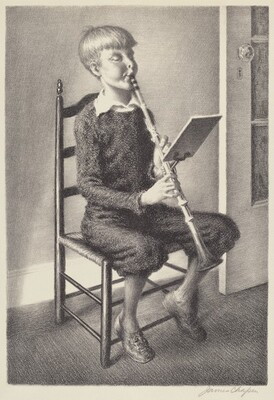 Boy Practicing