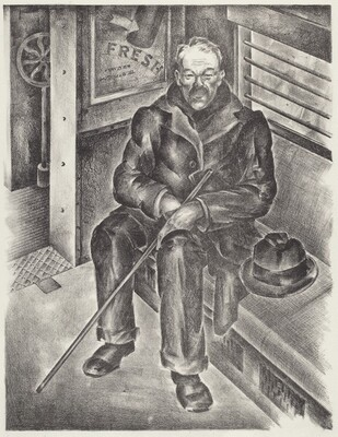 Untitled (Man in a Train)
