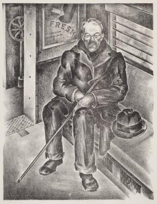 Untitled (Man in a Train)