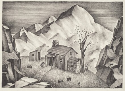 Untitled (Cabin in the Mountains)