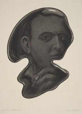 Portrait in Spilled Ink