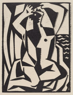 Untitled (Abstraction: Bather)