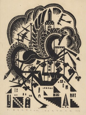 Untitled (Skyscraper and Horse)