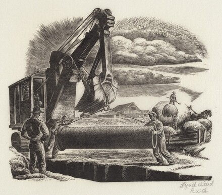 Untitled (Country-Bailing Hay)