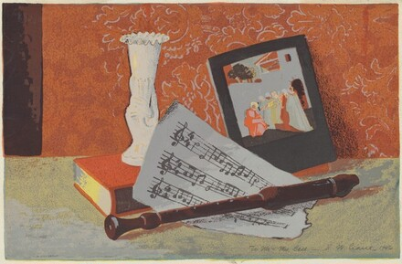Untitled (Music Still-Life)