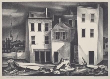 North Hudson Street Scene, N.J.