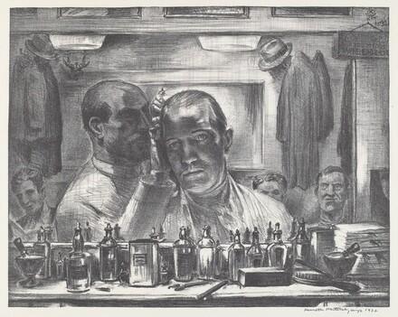 Untitled (Self Portrait at the Barber Shop)