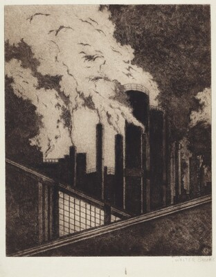Untitled (Industrial Scene)