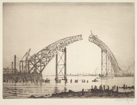 The Unfinished Span (Bayonne Bridge)