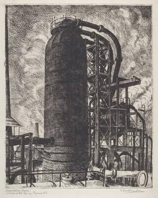 Fractionating Tower (Standard Oil Refinery, Bayonne, N.J.)