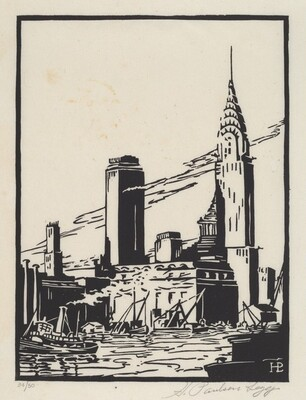 Untitled (New York City Riverfront)