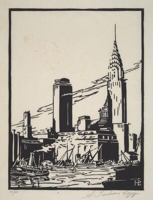 Untitled (New York City Riverfront)