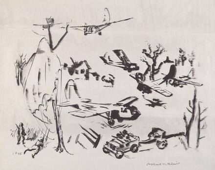 Untitled (War Scene)