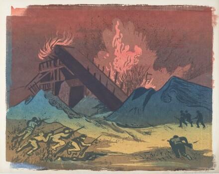 Untitled (World War II Scene)