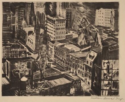 Restless Night - New York City