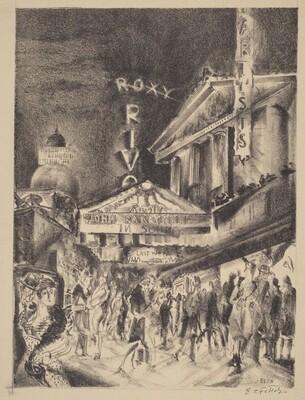 Broadway Night  (John Barrymore in Sound)