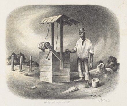 Man At The Well