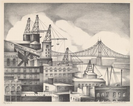 Untitled (View of East River, NY)