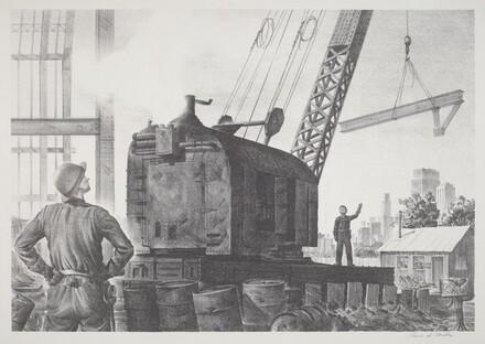 Untitled (Construction Scene)