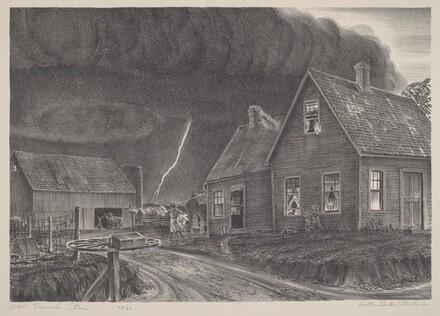Ohio Thunder Storm