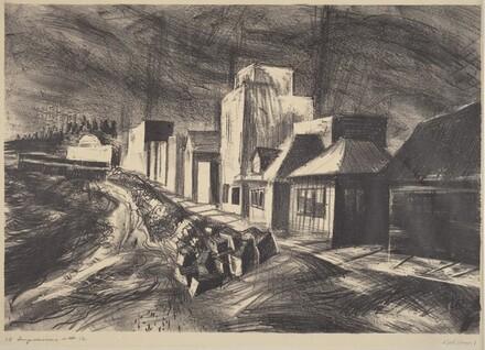The Strand (left panel)