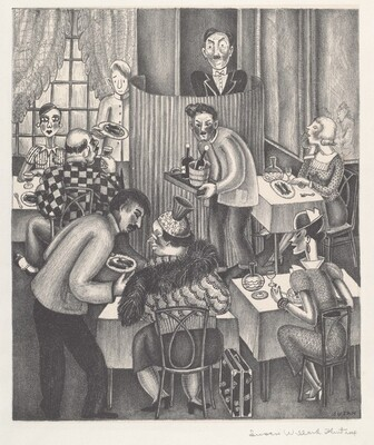 Untitled (French Restaurant)