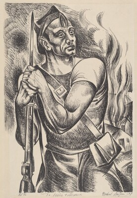 Untitled (Soldier of the Abraham Lincoln Brigade)