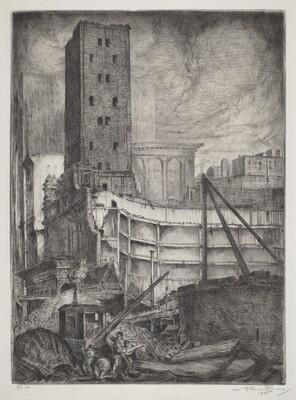 Demolition of the Madison Square