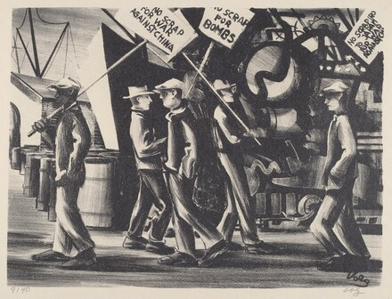 Untitled (Picket Line)