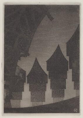 Untitled (Four Houses)